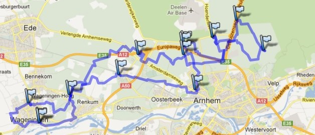 Veluweloop parcours