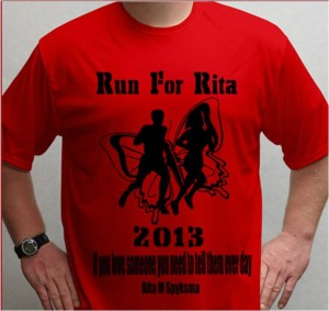 Tshirt 2013 run