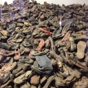 Auschwitz schoenen