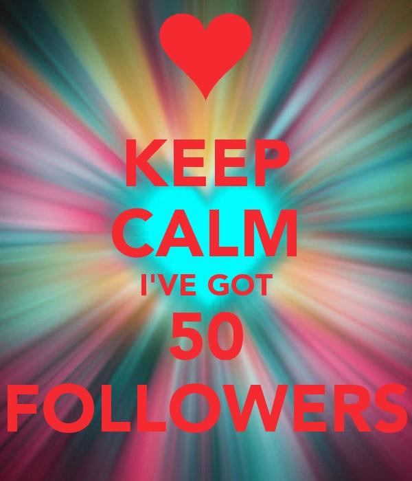 50 followers 2