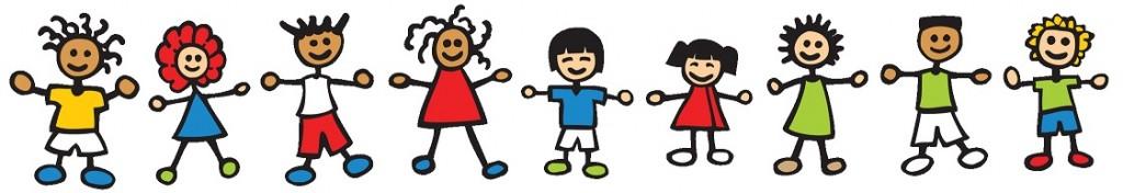 kinderen rijtje