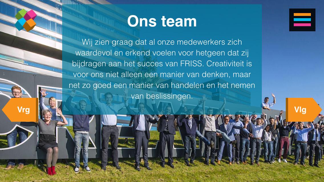 FRISS team
